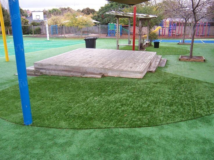Primary School Turf Installation