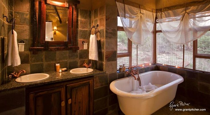 Lodge bathroom