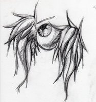 The eye tattoo represents what happened the first time a pack member goes earth-side after they start training.