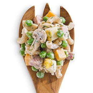 Peas & Ham Pasta Salad