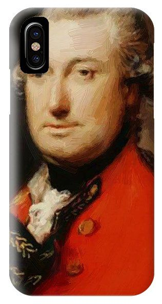 lord cornwallis iphone x case for sale by gainsborough thomas