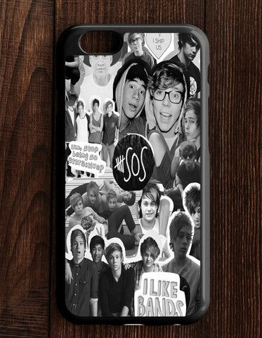 5 Second Of Summer Collage 5 SOS Art Music iPhone 6 | 6S Case