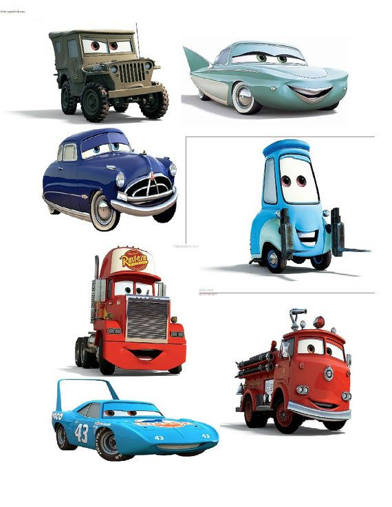 Iron on Disney Cars Fabric transfer by SAVVYCOUNTRYDESIGNS on Etsy