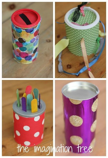 DIY baby and toddler toys for motor skills and curiosity.