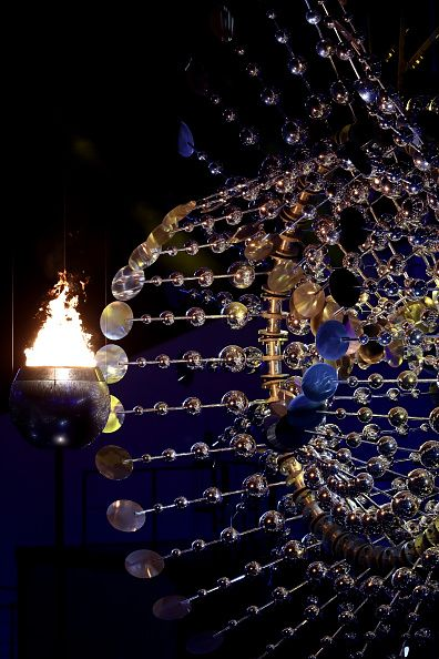 #RIO2016 The Olympic Cauldron is lit during the Opening Ceremony of the Rio 2016 Olympic Games at Maracana Stadium on August 5 2016 in Rio de Janeiro Brazil