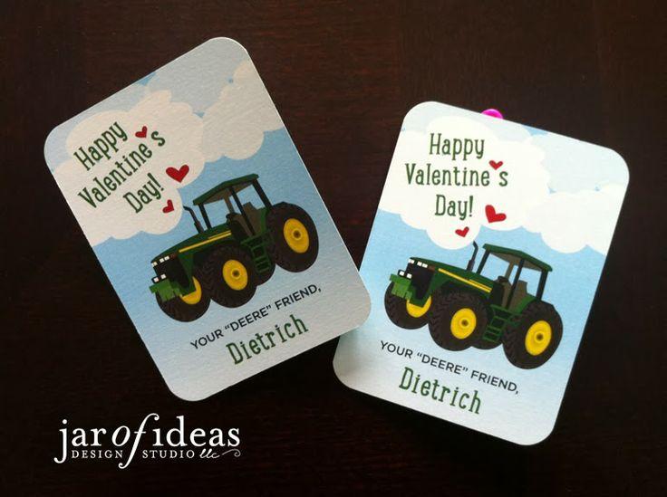 Tractor Valentine Cards : Best images about valentines on pinterest valentine