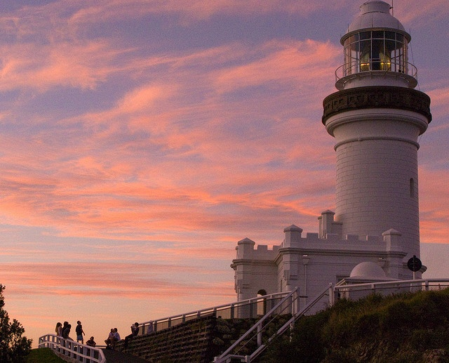Byron Bay Lighthouse - Sunset over Cape Byron