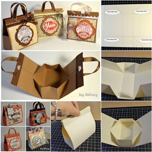 Cómo DIY Beautiful Bags Mini regalo