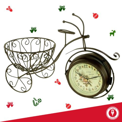 Gümüş Kalem' de dekoratif saatler sevdiklerinizi çok mutlu edecek harika yılbaşı hediyelerine dönüşüyor… www.gumuskalem.com.tr