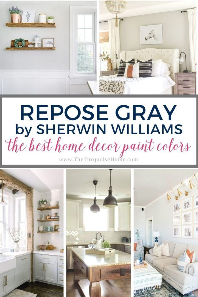 Best Home Decor Paint Colors Repose Gray In 2020 Repose Gray