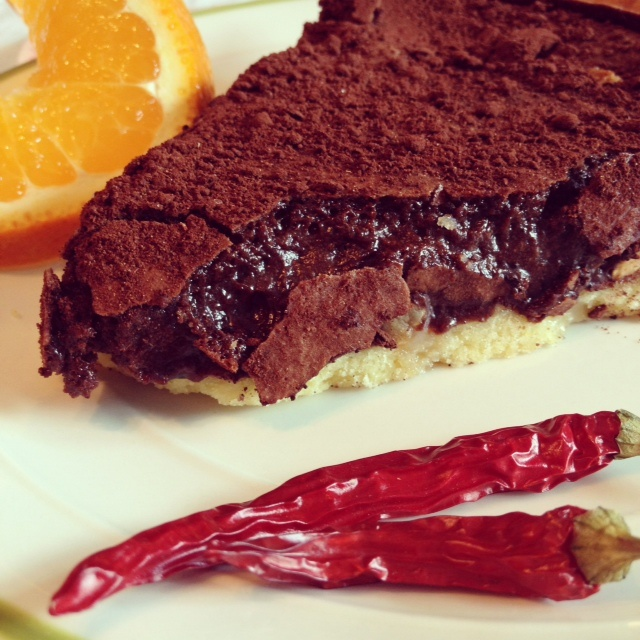 Madame Laurien: Chocolate Mole Tart