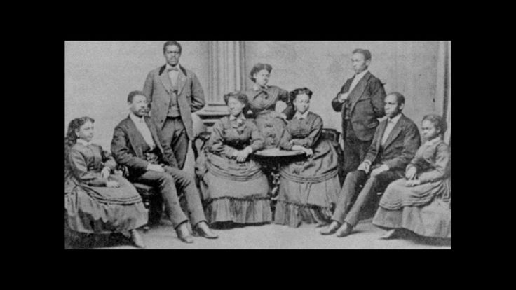 use with Tennessee music study  Swing Low Sweet Chariot - Fisk Jubilee Singers (1909)