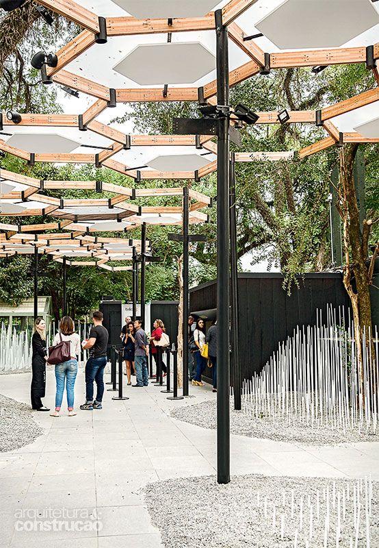 6 boas ideias estruturais da Casa Cor São Paulo - Casa                                                                                                                                                                                 Mais