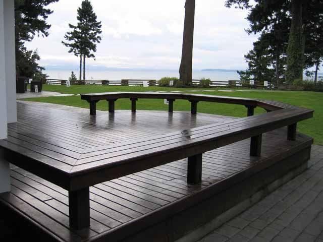 29 best backyard platform decks images on pinterest deck for Low deck designs