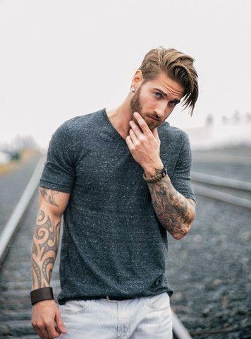 Mens Hairstyles Tutorial Ideas