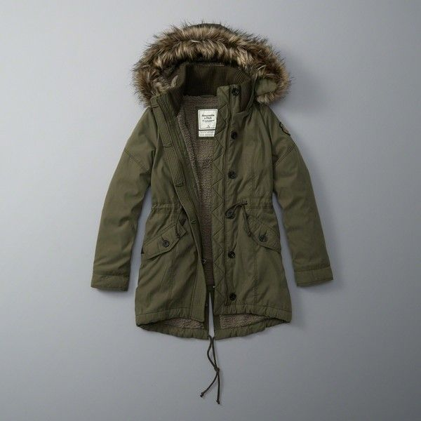 17 best ideas about Green Parka Coat on Pinterest | Crop tops ...
