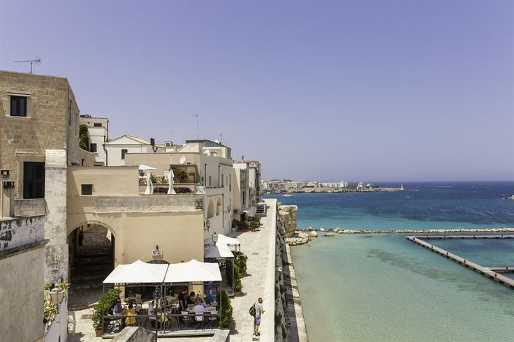 L'Argentiera - a luxurious seafront villa with infinity pool and direct sea access, all within easy walking distance of the bars and restaurants of Castro Marina, Puglia, Italy