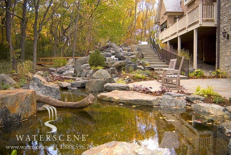 Relax alongside a water garden and experience a tranquility that transcends today's stressful world.