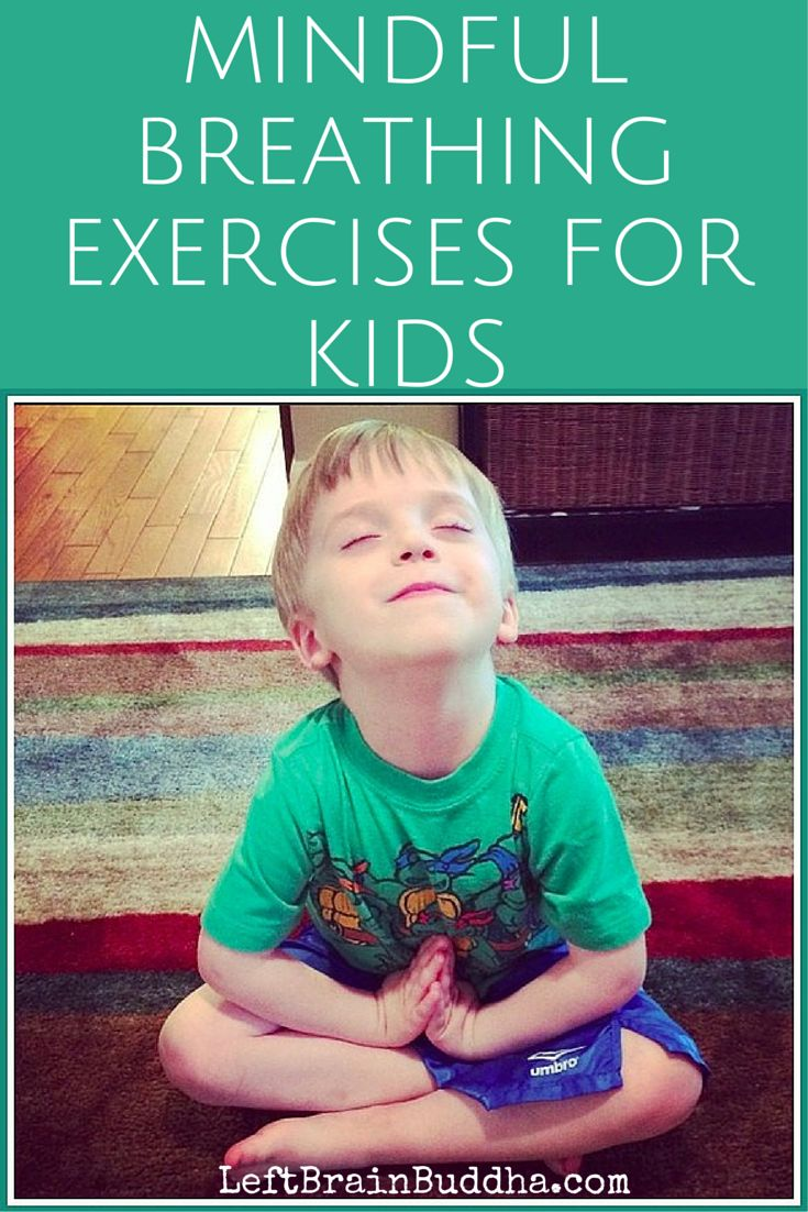 Mindful Breathing Exercises for Kids (as taught by my son) {VIDEO}