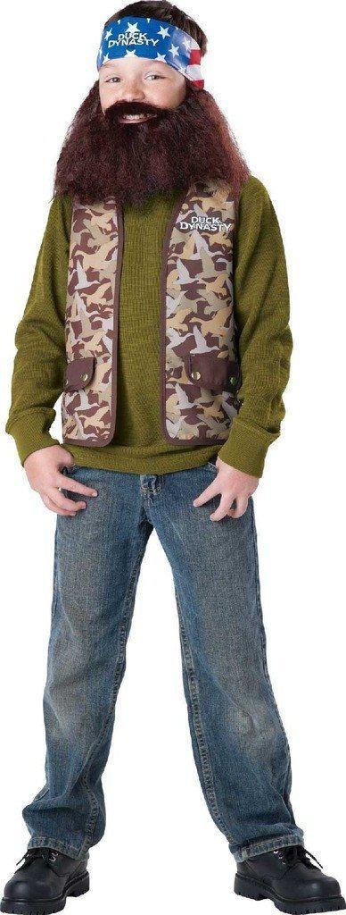Duck Dynasty - Willie Child Costume