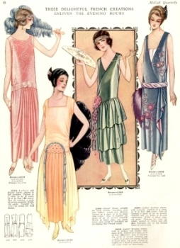 1924 evening dresses