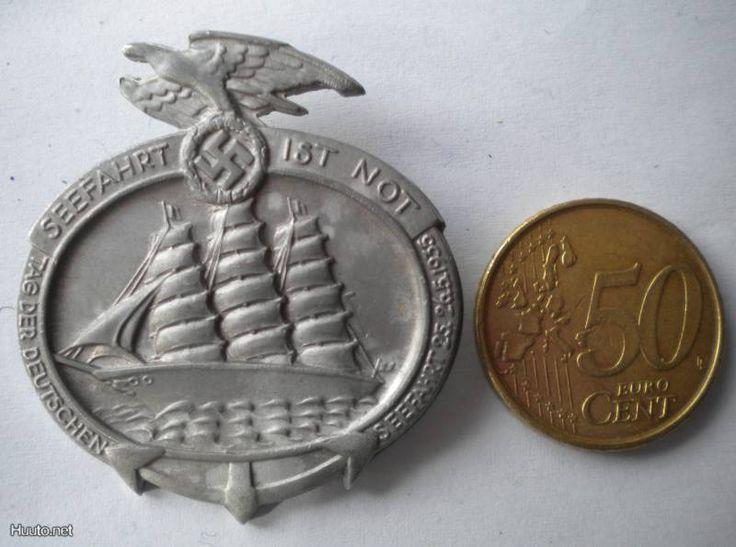 Pinssi neulamerkki Laivasto saksalainen militaria - Huuto.net