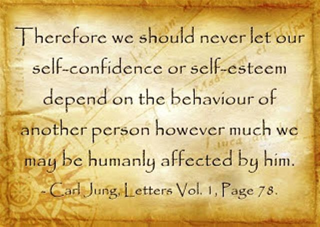 Carl Jung Depth Psychology: Carl Jung's Self-Confidence shaken.                                                                                                                                                      More