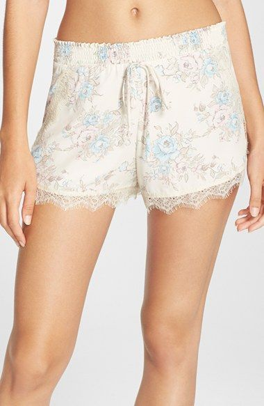 Band of Gypsies Lace Trim Shorts