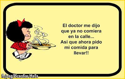 Mundo de Postales: EL DOCTOR ME DIJO QUE YA NO COMIERA EN LA CALLE......