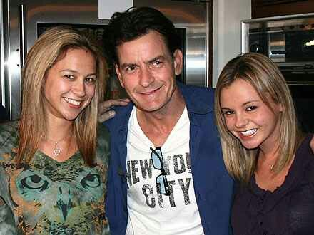Charlie Sheen & His Goddesses