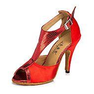 Sapatos+de+Dança(Roxo+Vermelho+Transparente)+-Feminino-Personalizável-Latina+Tênis+de+Dança+Moderna+–+EUR+€+55.85