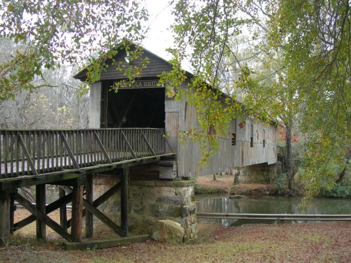 "6. Take a drive along <a href=""http://www.onlyinyourstate.com/alabama/covered-bridge-trail-al/"">Alabama's covered bridge trail</a>."