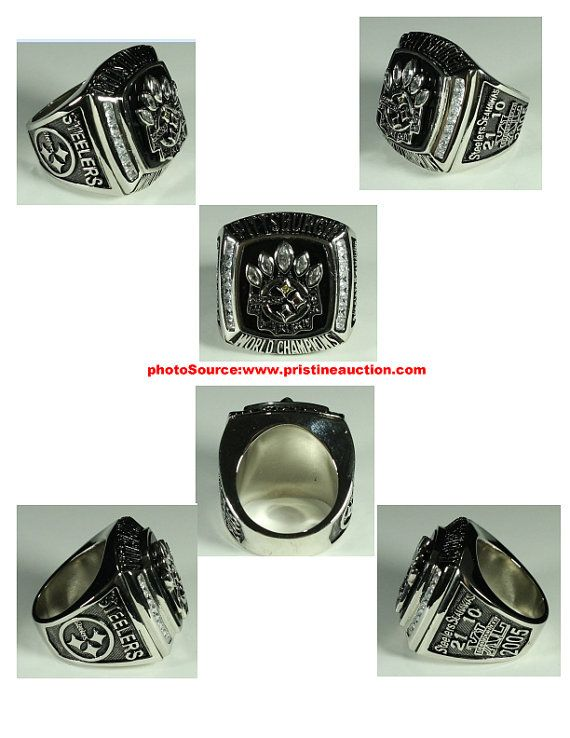 Fathers Day Gift 2005 Pittsburgh Steelers Super Bowl XL Championship Ring
