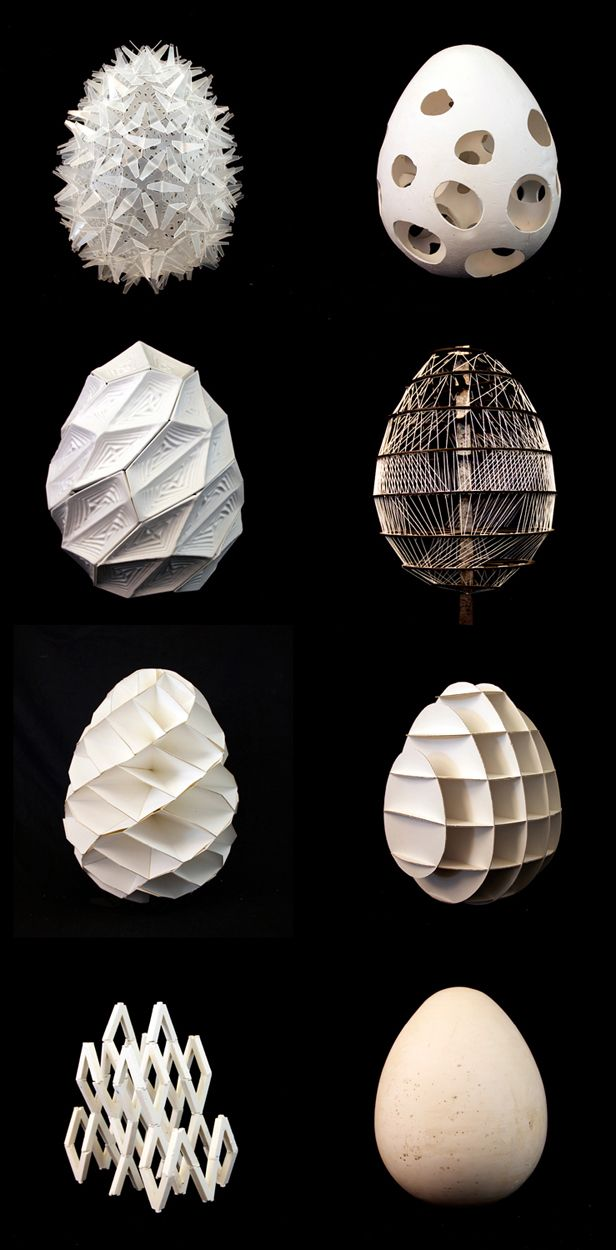 #3d #Printed Architecture Studio at the California College of the Arts_Materials: Wood, Plastic, Composites, Paper, etc. http://www.mylocal3dprinting.com/