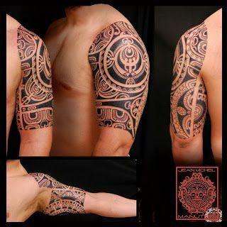 tatouage polynesien-polynesian tattoo #marquesantattoos