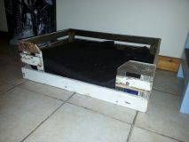 dog bed from pallets