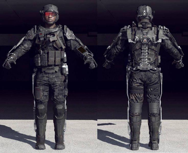 Call of Duty: Advanced Warfare - Die Idee zum Exoskelett - CoDInfobase