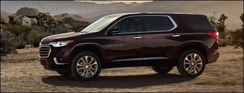 2018 Chevrolet Traverse High Country Road