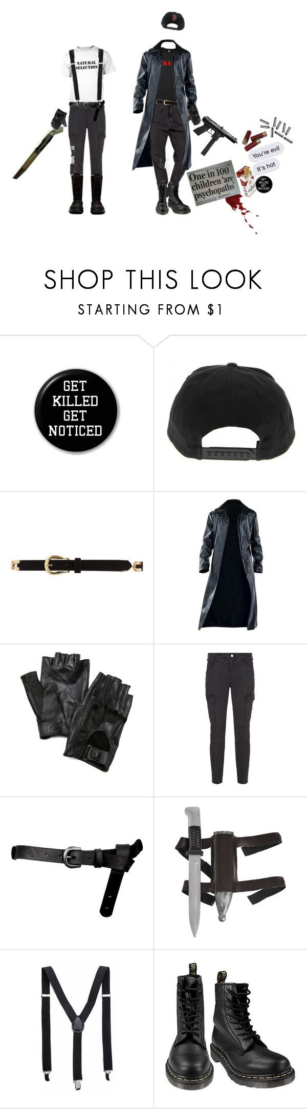 """REB&voDKa"" by morbid-octobur ❤ liked on Polyvore featuring Dorothy Perkins, Carolina Amato, J Brand, ASOS, Dr. Martens, Rick Owens, men's fashion and menswear"