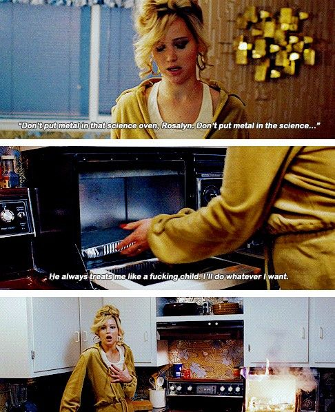Jennifer Lawrence as Rosalyn in American Hustle - she was hilarious
