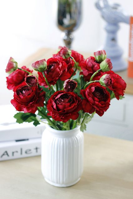 Vivid 1PC Silk Flower 2 Heads Peony Artificial Flowers Fake Leaf for Party Wedding Home Decoration 35cm 4 Colors -in Decorative Flowers & Wreaths from Home & Garden on Aliexpress.com | Alibaba Group