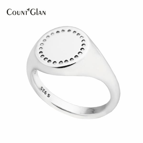 ~ Signet Ring ~ 925 Sterling Silver-Jewelry ~ HOT TREND