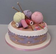 Knitter's cake