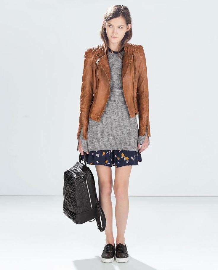 Zara leather jackets