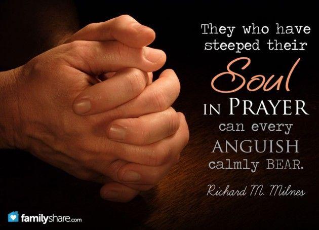 Developing a pattern of personal prayer