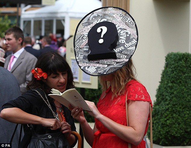 Superinjunction chic: A hat puns on the latest cheating footballer scandal