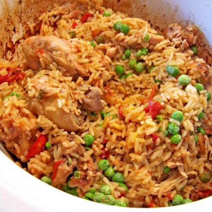 Arroz Con Pollo is simply just rice and chicken. It is from Mexico ...