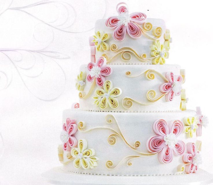 how to do fondant quilling - Google Search