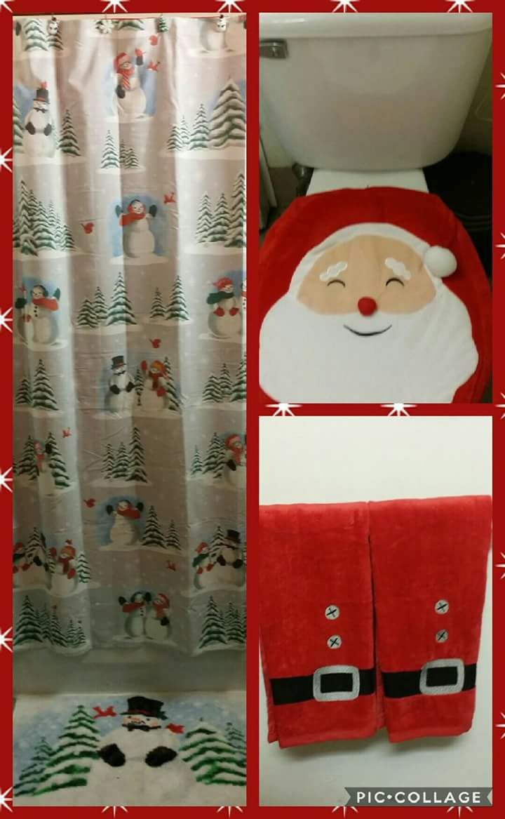 Christmas bathroom accessories - 40 Out Of The Box Christmas Bathroom D Cor Ideas For A Complete Festival Makeover