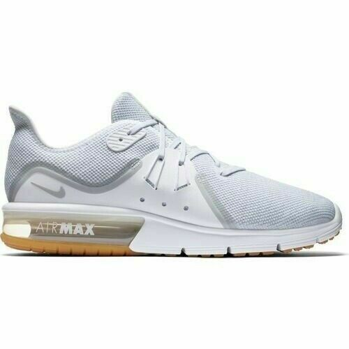 Nike Air Max Sequent Mens Running Shoes White New In Box